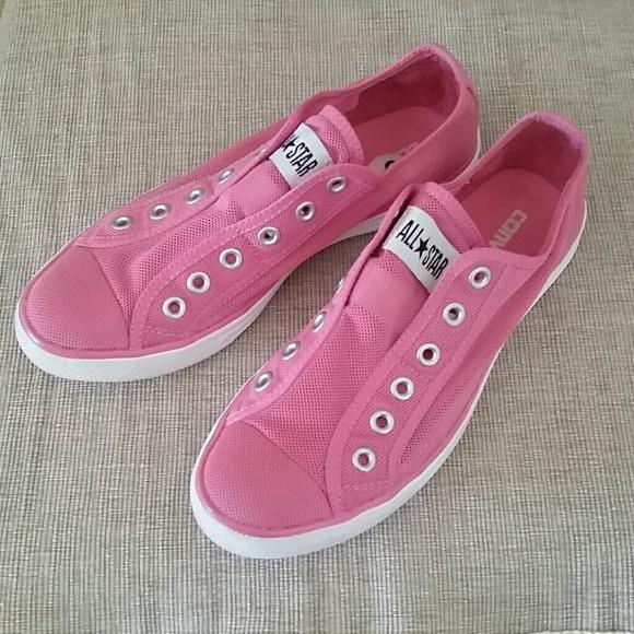 ba3e7636e72d Converse Shoes - Converse All Star sheer mesh pink no lace sneaker